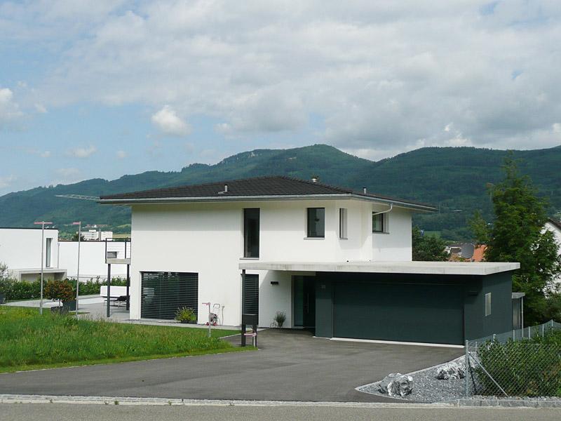 Das einfamilienhaus realisiert von neuhaus for Architektur 4 1